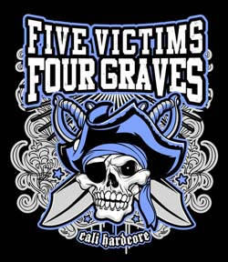 Band page for Five victims four graves