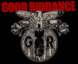 Band page for Good Riddance