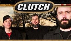 Band page for CLUTCH