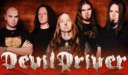 Band page for DevilDriver