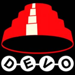 Band page for Devo