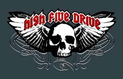 Band page for High Five Drive