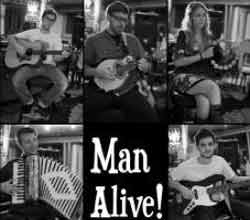 Band page for Man Alive