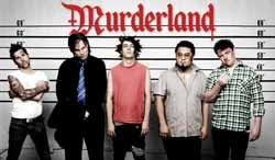 Band page for Murderland