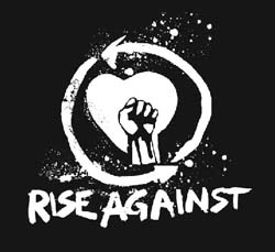 Band page for Rise Against