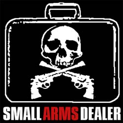 Band page for Small Arms Dealer
