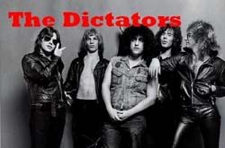 Band page for The Dictators